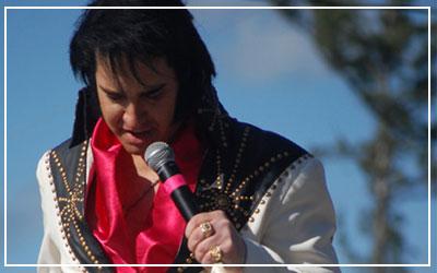 Long Islands Own Steve Mitchell As Elvis